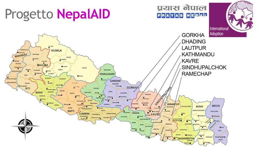 Cartina Mondo Nepal.Nepal Aid Raccolta Fondi Terremoto